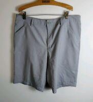 Adidas Men Golf Shorts Gray Size 34