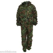Hunting 3D Bionic Leaf Camouflage Suit CS Savage Camo Jungle Sniper Clothes