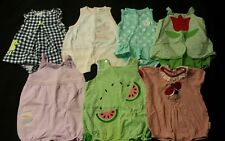 Baby Girl Size 12 months Spring & Summer Clothing Lot *Rompers*
