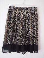 """I.N. Studio Women's Lined Flared Skirt 28"""" Waist  Size 4P - EUC"""