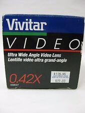 Vivitar 0.42x Fisheye lens super wide angle for SLR, DSLR Vintage Vivitar NOS