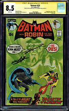 BATMAN #232 CGC 8.5 SS 2Xs SIGNED BY NEAL ADAMS AND DENNY O'NEIL CGC #1960748003