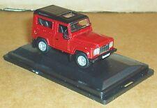 Oxford Diecast Land Rover Defender 90 Firenze Red-Santorini Negro 1:76 Escala