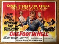 One Foot In Hell Original UK Quad Poster (Chantrell artwork)