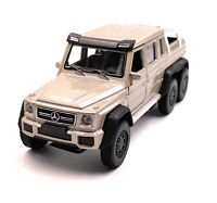Mercedes Benz G63 6x6 AMG Golden Model Car Car Scale 1:3 4 (Licensed)