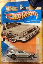 2011 Hot Wheels New Model Back To The Future Time Machine Deloorean DMC 12