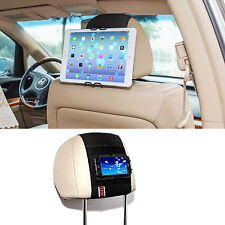 TFY Universal Car Headrest Mount Holder for Smartphone iPhone iPad mini Tablet