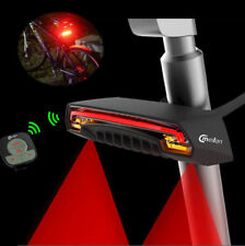 Meilan X5 Smart Bicycle LED Rear Remote Wireless Light Laser Beam USB Chargeable