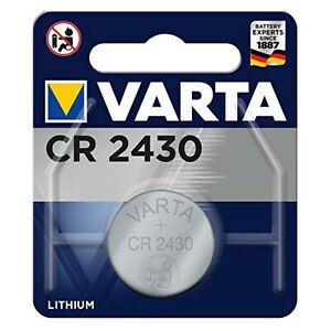 VARTA CR2430 Lithium Battery 3V 6430 x 1 for Watchman Sonic Oil Tank Monitor NEW