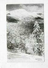 1955 RPPC Postcard NOSE DIVE TRAIL Mt Mansfield Stowe VT R142