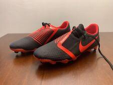 Nike Phantom Venom Academy Fg Soccer Cleats Men's 10 Black Red Ao0566 060 Vnm