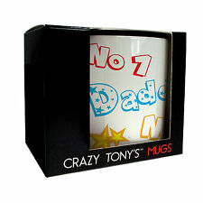 Crazy Tony's Personalised Best Daddy In The World Mug, Birthday, Adult, Dad Gift