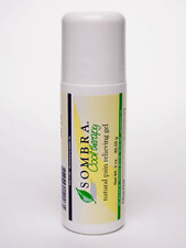 3oz SOMBRA COOL THERAPY PAIN RELIEVING Gel 3oz Roll-on (3-pack ) (FREE SHIPPING)
