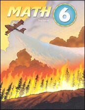 BJU Press - Math 6 Worktext (3rd Ed) 275297