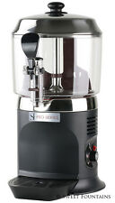COMMERCIAL DRINKING CHOCOLATE MACHINE HOT BEVERAGE SHOT DISPENSER - BLACK - 5L