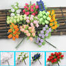 Home Decoration  Handmade Mini Silk Bouquet  Simulated Rose  Artificial Flower