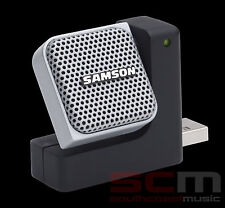 SAMSON GO MIC DIRECT USB MICROPHONE SKYPE PODCAST PLUG'N PLAY FREE SHIPPING NEW!