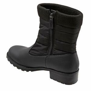 Trotters Women's Berry Mid Ankle Boot, Black, Size 9.0 tPNi