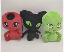 Miraculous Tikki Plagg Wayzz Ladybug Action Figure Plush Toys ~Brand New~