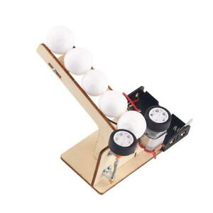 Electric Ball Pitching Machine Kits Children DIY Science Educational Toys