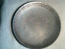 Vintage City of Bergen Norway 900 Year Souvenir metal dish  1070-1970