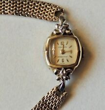 Vintage Women's Croton Watch 10K RG 17 Jewels-Swiss-Runs