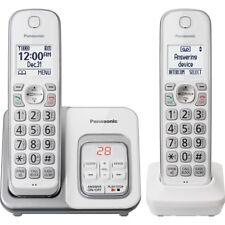 Panasonic KX-TGD532W DECT 6.0 1.93 GHz Cordless Phone - 2 x Handset - White