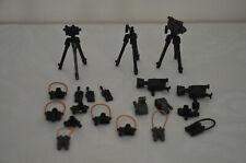 Playmobil Camera Tripod Movie Camera Binoculars Radios