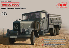 ICM 35405 Typ LG3000, WWII German Army Truck 1/35 scale model  154mm