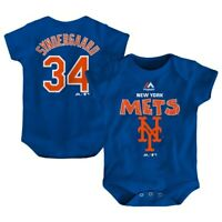Noah Syndergaard New York Mets Majestic Newborn & Infant Stitched Player Name &