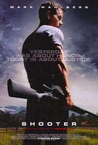 """""""SHOOTER"""" Movie Poster [Licensed-NEW-USA] 27x40"""" Theater Size (Mark Wahlberg)"""