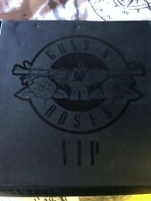 GUNS N ROSES Very Limited VIP 2017 Commemorative Pick/Pass/Pin/Ticket tour book