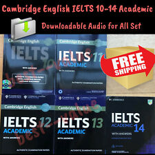 Cambridge Practice Tests IELTS (10– 14) Academic Student Book Answers+Audio Link