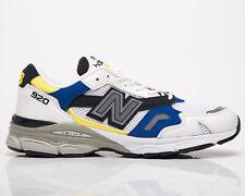 New balance 920 Hecho en Reino Unido Para Hombre Blanco Azul Marino Baja Estilo de vida informal Tenis Zapatos
