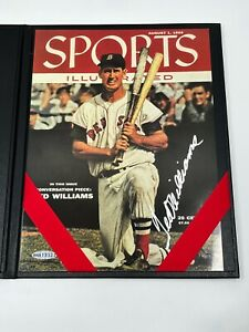 Ted Williams Red Sox Signed Autograph 8 x 10 SI Sports Illustrated Photo UDA