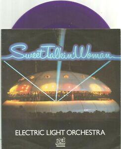 Electric Light Orchestra (ELO) - Sweet Talkin' Woman 7 inch mauve vinyl single
