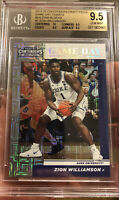 POP 1 Contenders Building Blocks Game Day Zion Williamson Rookie BGS 9.5 #2/10