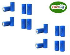 16 x Enercig 16340 CR123A 3,7V 700mAH Li-ion wiederaufladbare Akkuzelle (2,59Wh