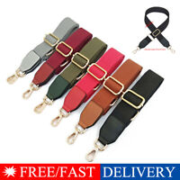 Adjustable Wide Shoulder Bag Belt Strap Crossbody Replacement Handbag Handle sm