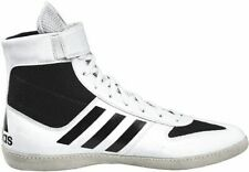 adidas Men's Combat Speed Wrestling Shoe 16, White/Black/White