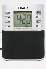TIMEX T308S LCD Digital Clock AM/FM Radio w/ Auto-Set and Nature Sounds