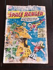 Space Ranger #16 1958 Cover Is Poor Condition Completely Readable