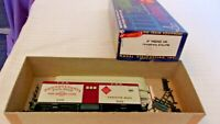 HO Scale Roundhouse 34' Pennsylvania Baggage Car, #926, Gray, Partially Built
