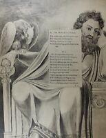 1922 Completo Talla William Blake Estampado Thomas Grays Poema Progress