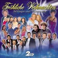 FRÖHLICHE WEIHNACHTEN,SCHLAGER UND VOLKSMUSIK 2 CD NEU