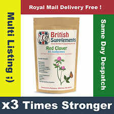 Red Clover Extract x3 Times Stronger, Hot Flushes, Menopause, Hormone Balance