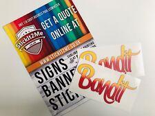 Smokey And The Bandit Sticker Vinyl Decals Stickers Burt Reynolds Trans Am 70's