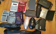 Electronics Junk drawer lot Casio sharp logitech palm nikon vaio sling lingo