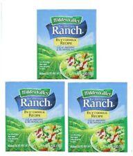 Hidden Valley Ranch Buttermilk Recipe Salad Dressing Mix 3 Packets