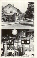 Avon CT Old Farms Inn Postcard